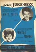 ANTE DIOS - PICCOLO MONDO - SPARTITO-SHEET MUSIC