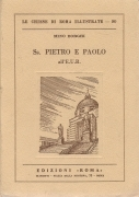SAN PIETRO E PAOLO ALL'EUR - MINO BORGHI  -  LE CJIESE DI ROMA ILLUSTRATE