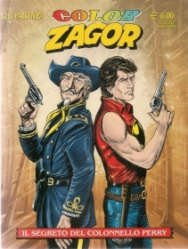 IL SEGRETO DEL COLONNELLO PERRY - COLOR ZAGOR N. 4