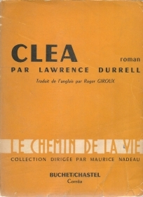 CLEA - LAWRENCE DURRELL - FRENCH TEXT