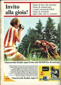 CINECORREDO KODAK SUPER 8 - ADVERTISING