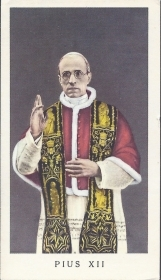 PIUS XII - SANTINO - AS013-032 - ED G MI