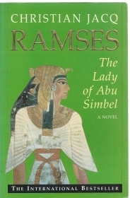 RAMSES THE LADY AF ABU SIMBOEL - CHRISTIAN JACQ  (ENGLISH TEXT)