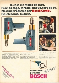 BOSH COMBI - ADVERTSING