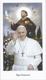 PAPA FRANCESCO - SAN FRANCESCO - AS012-005