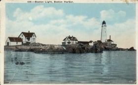 BOSTON - BOST HARBOR - 1929