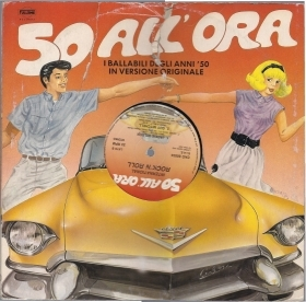 50 ALL'ORA BALLABILI ANNI '50 IN VERSIONE ORIGINALE - INTERNATIONAL ROCK 'N ROLL