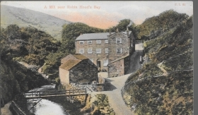 A MILL NEAR ROBIN HOOD'S BAY - V1908