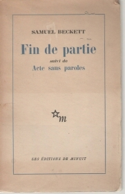 FIN DE PARTIE suivi de Acte sans paroles - SAMUEL BECKETT   (FRENCH TEXT)