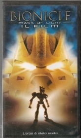 BIONICLE - MASK OF LIGHT - VHS