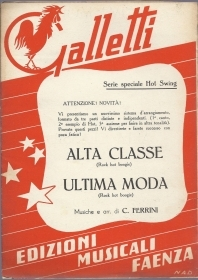 ALTA CLASSE - ULTIMA MODA  C. Ferrini # SPARTITO - Serie Hot Swing - Ed Galletti