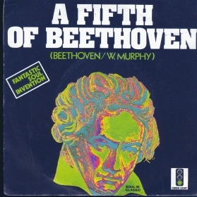 A FIFTH OF BEETHOVEN - BALL IN PLAY # FANTASTIC SOUL INVENTION  (Blue cover)