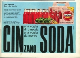 CINZANO SODA - ADVERTISING