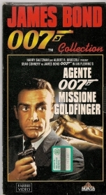 AGENTE 007 MISSIONE GOLDFINGER - SEAN CONNERY - VHS