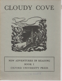 CLOUDY COVE (ENGLISH TEXT) Oxford University Press 1961