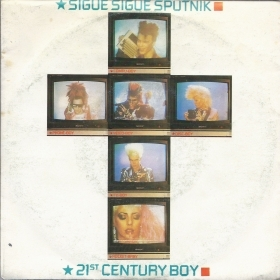 21st CENTURY BOY - BUY EMI # SIGUE SIGUE SPUTNIK