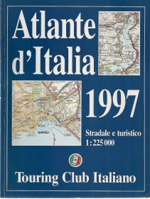 ATLANTE D'ITALIA 1997 TOURING CLUB ITALIANO - AA.VV.