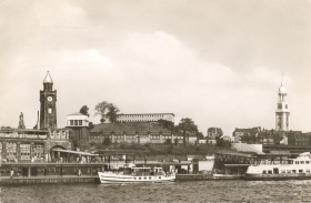 AMBURGO/HAMBURG - PANORAMA - V1956