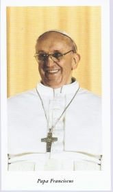 PAPA FRANCISCUS - SANTINO - AS015-313 - Ed. Egim
