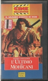 L'ULTIMO DEI MOHICANI - DANIEL DAY-LEWIS - VHS