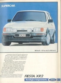 FIESTA XR2 - AUTO - ADVERSITING
