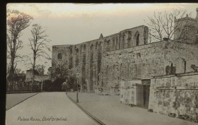 DUNFERMLINE - PALACE RUINS - N
