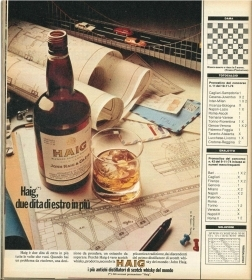 HAIGH, DUE DITA DI ESTRO IN PIU' - WHISKY - ADVERTISING