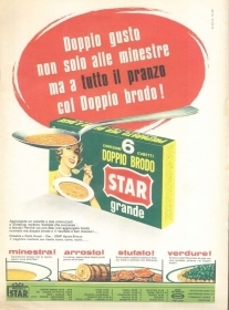 DOPPIO BRODO STAR - ADVERSITING -