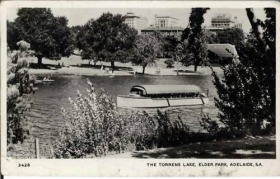 ADELAIDE - THE TORRENS LAKE -1963
