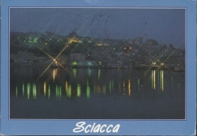 SCIACCA - PANORAMA NOTTURNO -