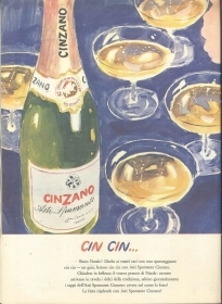 CINZANO - CIN CIN ... - ADVERSITING -
