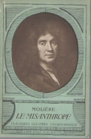 LE MISANTHROPE - MOLIERE  (FRENCH TEXT)