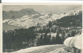 AROSA - PANORAMA - SWITZERLAND - 1929
