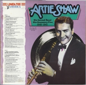 ARTIE SHAW, HIS SECOND BAND, HIS GRAMERCY FIVE 1940-1941 # LINEATRE AMERICA