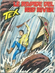 TEX N° 344 - LE RAPIDE DEL RED RIVER