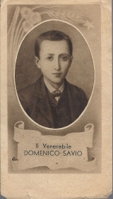 IL VENERABILE DOMENICO SAVIO - SANTINO - AS 015-228 - Ed. ODB