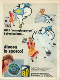 ALL - IGIENE DELLA CASA - ADVERTISING