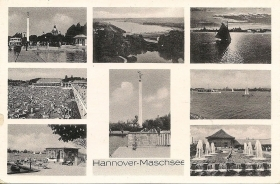 HANNOVER-MASCHSEE - 8VEDUTE/8B