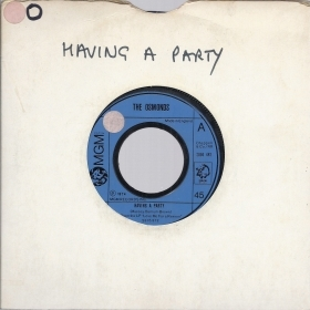 HAVING A PARTY - WANTED # THE
