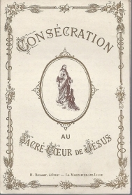 CONSECRATION AU SACRE-COEUR DE JESUS - SANTINO LIBRETTO - AS015-213  french text