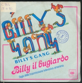 BILLY IL BUGIARDO  vocal - ins