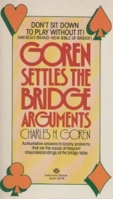 GOREN SETTLES THE BRIDGE ARGUMENTS - CHARLES H. GOREN (ENGLISH TEXT)